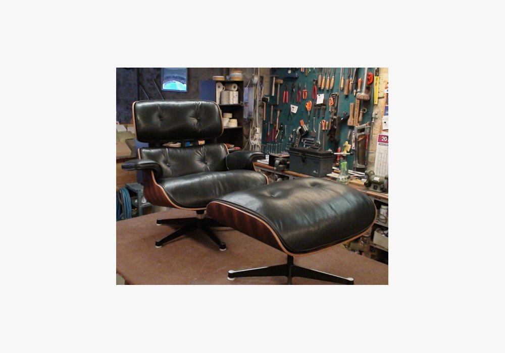 ChauffeuseLounge chair de Charles & Ray Eames