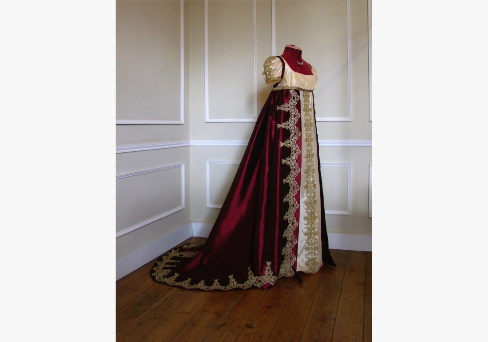 Robe de cour 1 er Empire